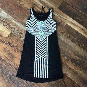 Volcom Open Back Summer Aztec Dress